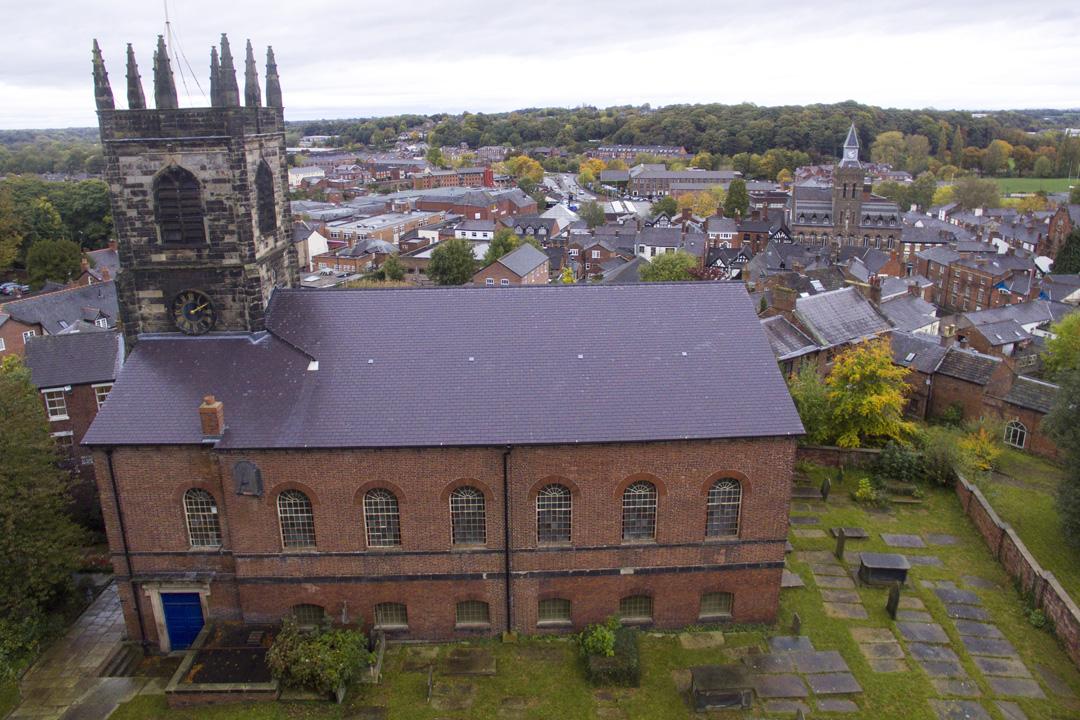 Church Tours - Cheshire's St Peter's Congleton