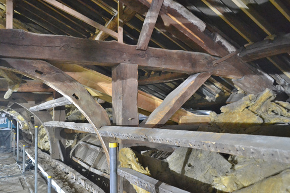 North Side Timbers, St Peter's Congleton Renovation