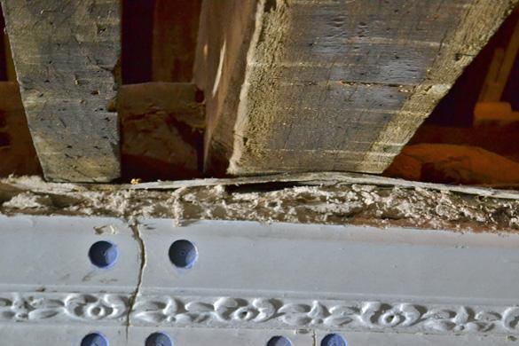Plaster Thickness, Cheshire Church Renovation