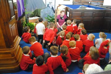 Experience Easter at St Peter's Congleton - School Visits & Group Tours