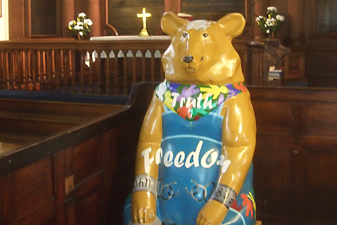 Freedom Bear, St Peter's